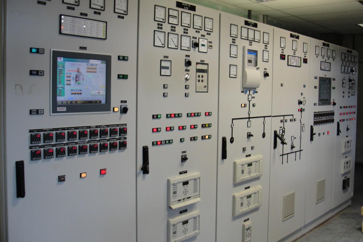 Armarios de control - Hidroeléctrica Salto Andersen, Rio Colorado, Argentina