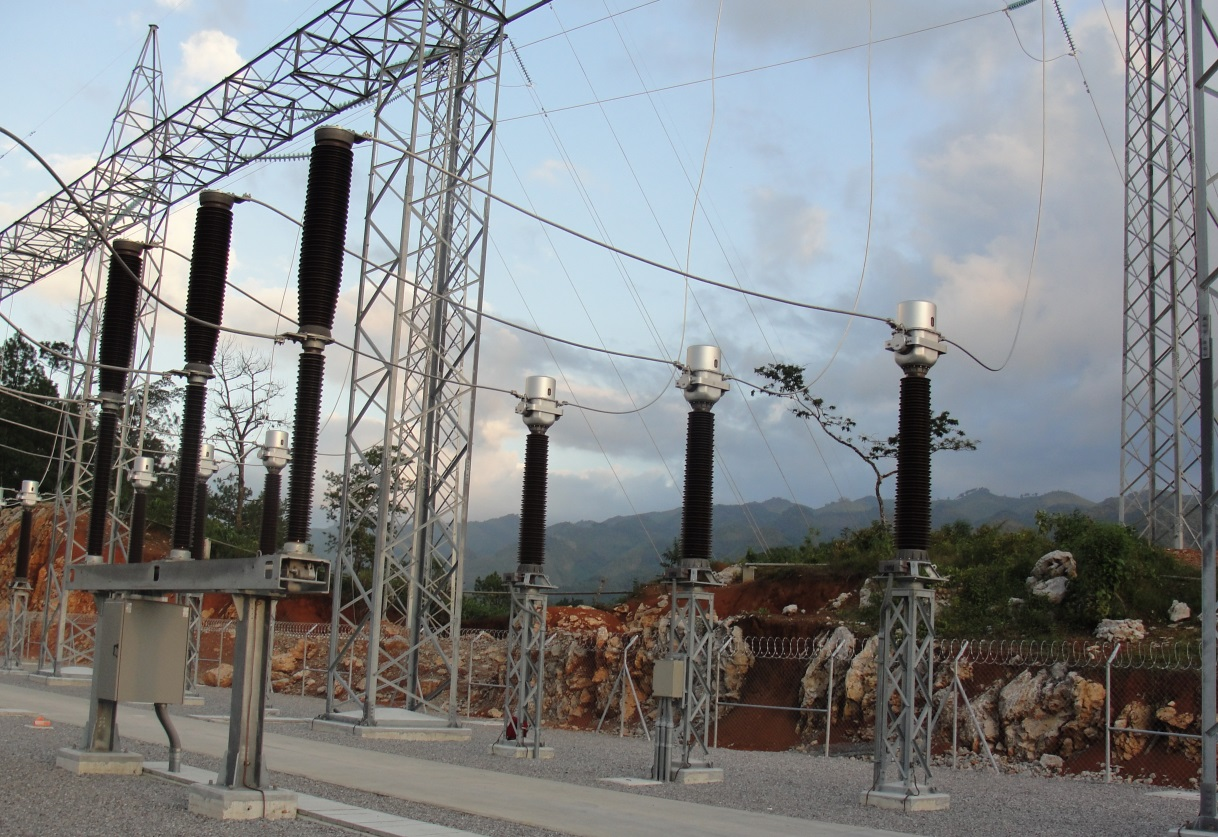 Substation - Renace II hydropower plant, Guatemala