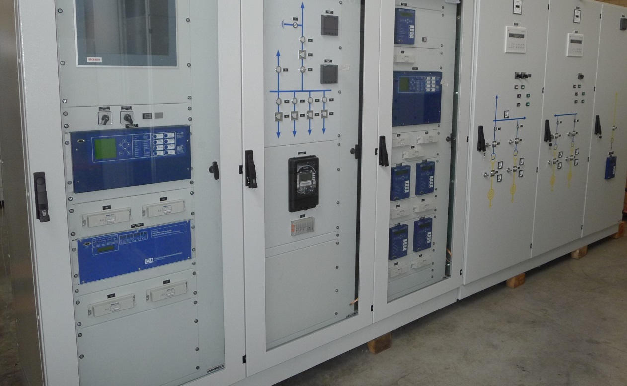 Control cabinets - Renace II hydropower plant, Guatemala