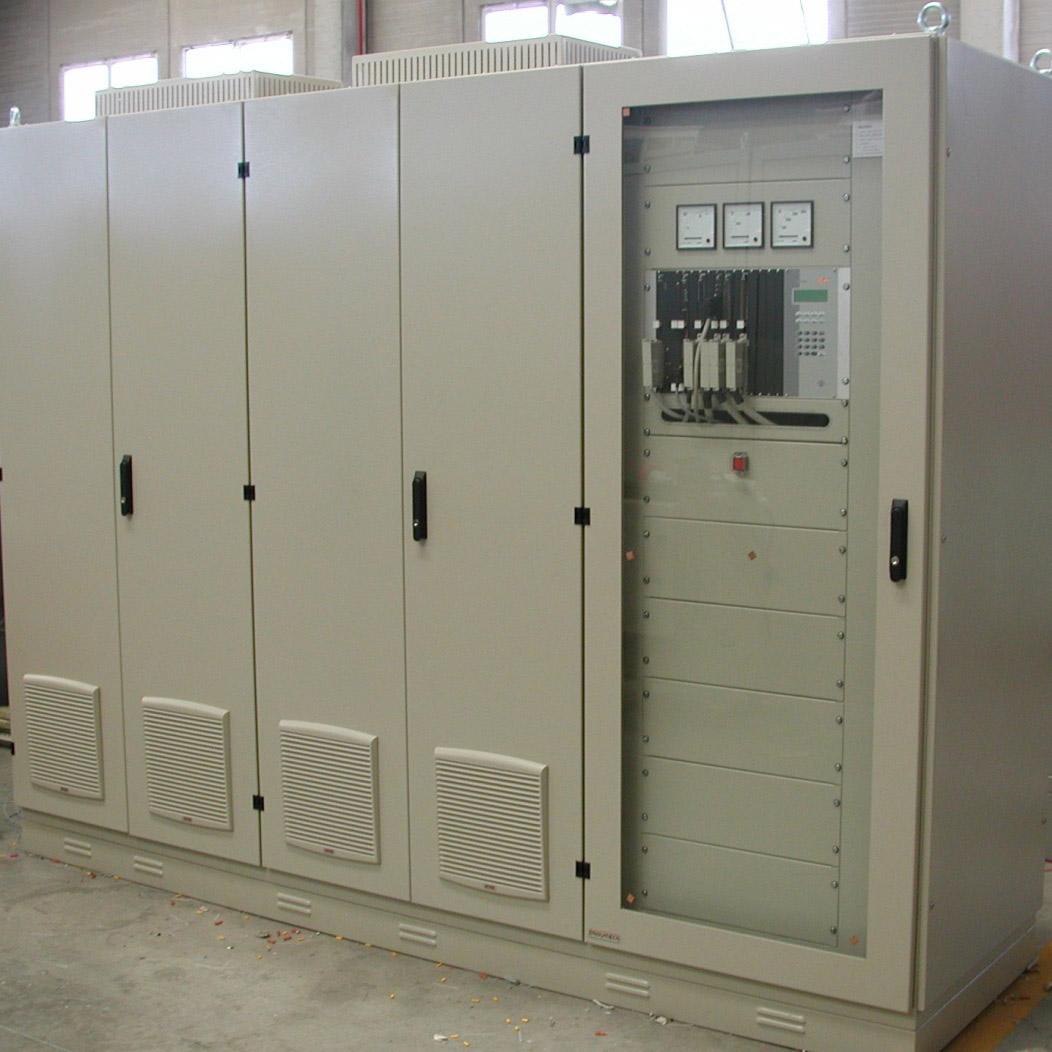 Static excitation cabinet - Belesar hydropower plant, Lugo, Spain