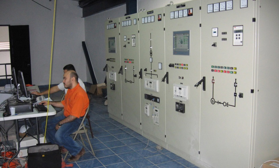 Commissioning - Los Algarrobos hydropower plant, David, Panama