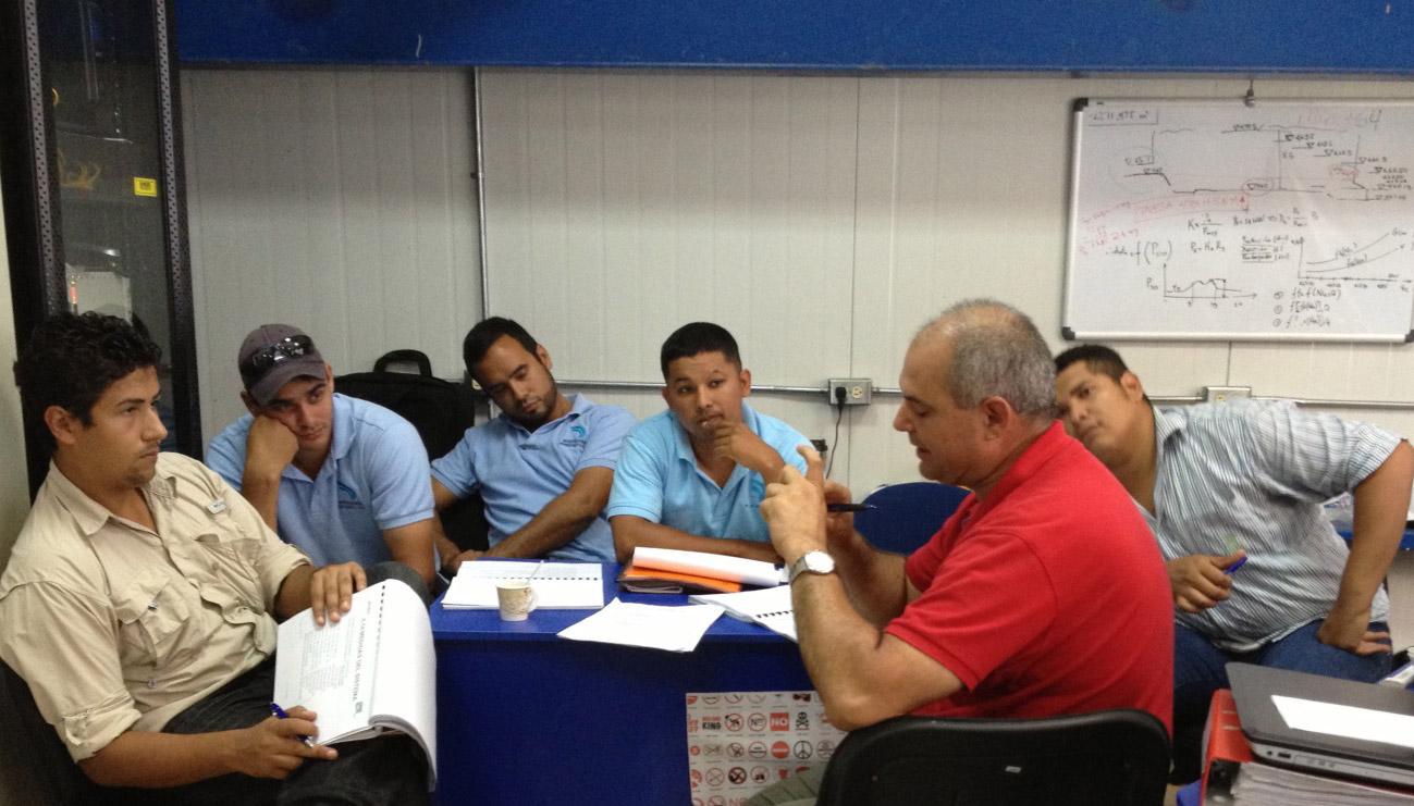 Formación del personal de operación y mantenimiento - Hidroeléctrica Cochea, Panamá