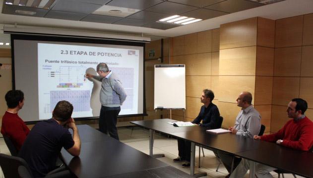 Formación del personal técnico - Oficinas de Proinelca Power, Madrid – España