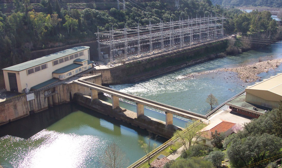 Hydropower plant - Cijara, Spain