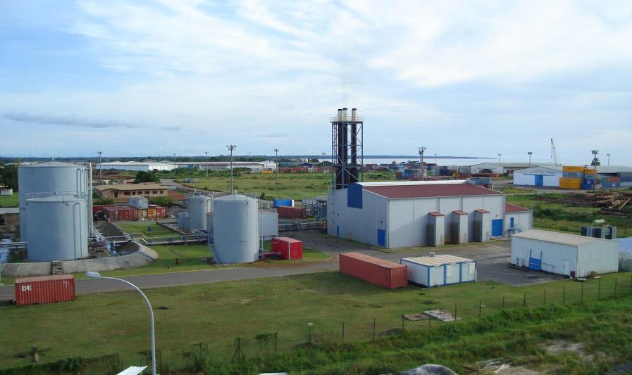 Central diesel, Bata – Guinea Ecuatorial