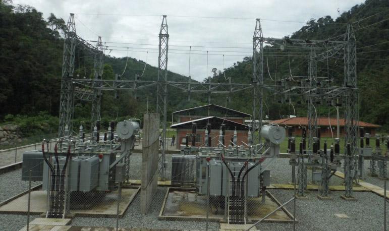 Subestación central hidráulica, Cuenca – Ecuador