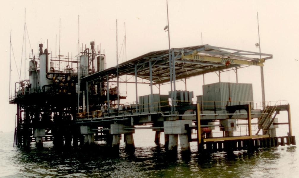 Electrificación estación de Flujo, Lago de Maracaibo – Venezuela