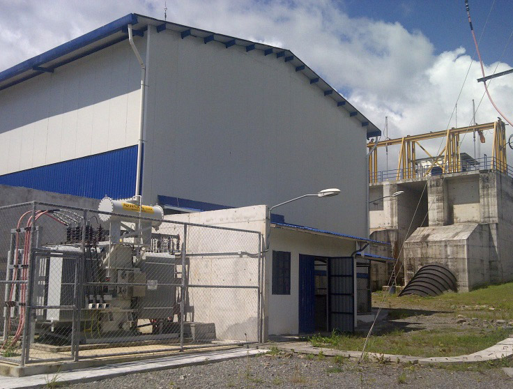 Central Hidroeléctrica San Lorenzo, David – Panamá